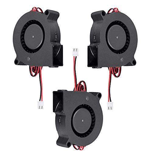 Furiga 24V 5015 DC ventilador 50X50X15mm ventilador de refrigeración Radial Cable de 1 M para impresora 3D máquina CNC disipador de calor 3 uds