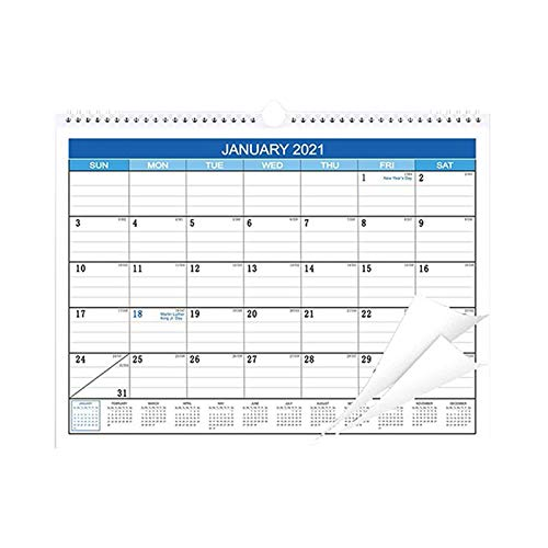 Janly Clearance Sale Decoration & Hangs, Notepad Month Calendar For U.S. Holidays From January 2021 To After May 2022, for Christmas Home & Garden Decorate, (Multicolor)