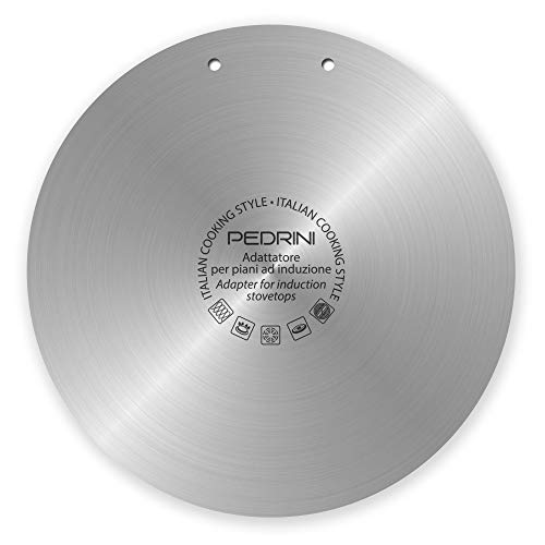 Pedrini 04GD165 - Difusor adaptador, acero inoxidable