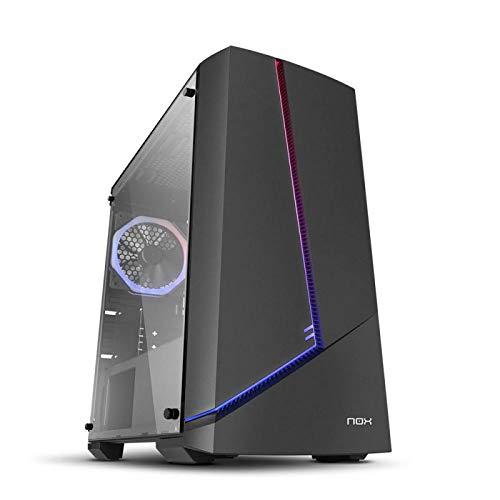 Pc Gaming sobremesa -(AMD Ryzen 5 3600 Ordenador Gaming 8GB de RAM DDR4, GTX 1650 Disco SSD 240GB + 1TB HDD, WiFi) Nuevo