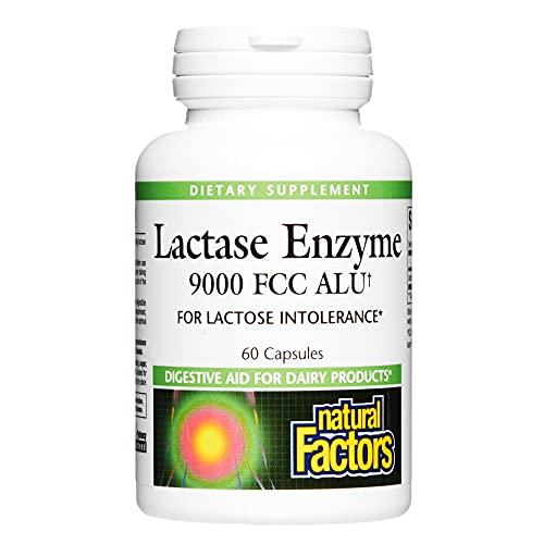 Lactase Enzyme (9000 FCC ALU) 60 caps