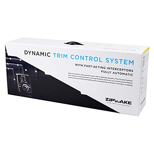 Photo of white and black colored box containing a Zipwake Dynamic Trim Control System