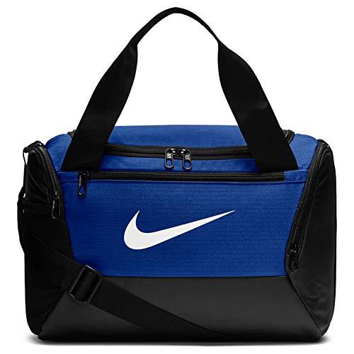 Nike NK BRSLA XS Duff-9.0 Sac de Gym Mixte Adulte, Bleu...