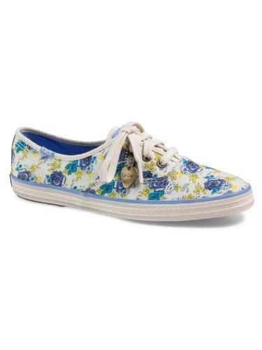Keds CH TS Favs Sneaker Blue, White, 35.5
