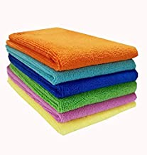 Sheen Microfiber Soft Cloth for Baby || Baby wash Towel || Baby face Towel || Baby Wipes || Newborn Baby Towel|| Multicolour || Multipurpose || 40X40 || 330 GSM