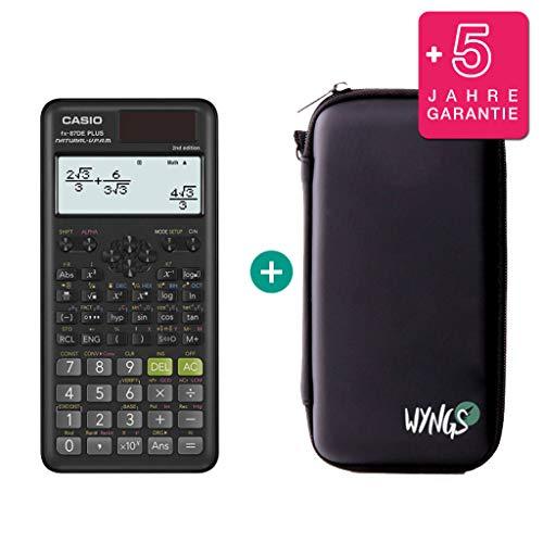 Casio FX-87DE Plus 2 (2nd Edition) + Schutztasche + Erweiterte Garantie