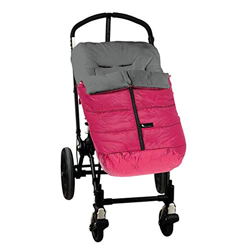 Interbaby 10024-28 - Saco de silla de paseo Fucsia