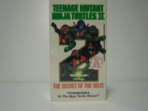 Teenage Mutant Ninja Turtles II - The Secret of the Ooze [VHS]
