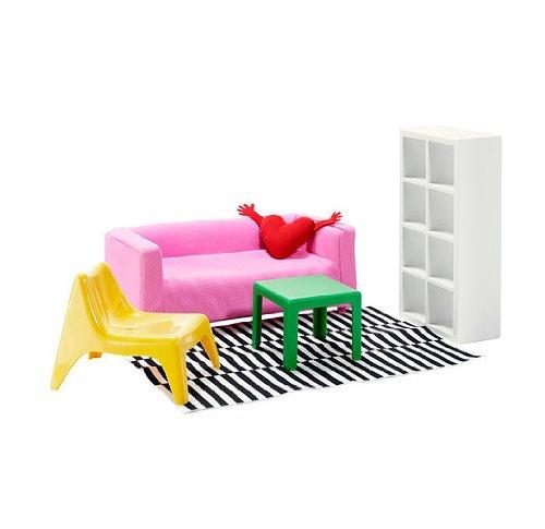 (IKEA) HUSETミニチュア家具 リビングルーム