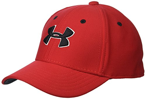 Under Armour Little Boys' Baseball Hat, Matte Red, 4-6