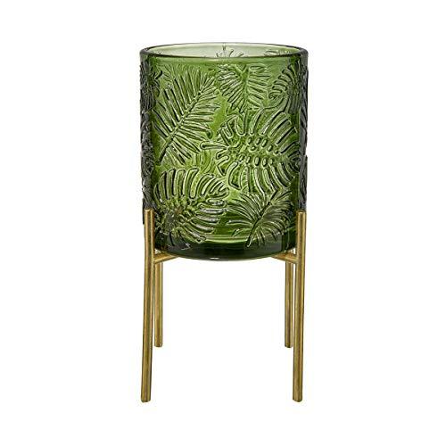 Butlers Dark Jungle Teelichthalter H 13cm