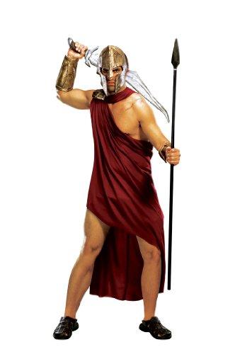 Rubie's Spartan Warrior, Red, Standard Costume