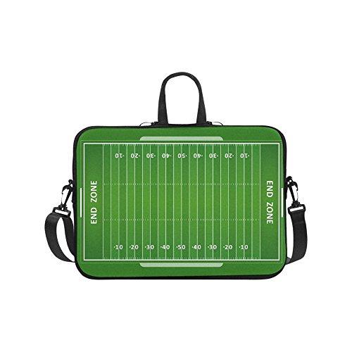 Laptop Sleeve Case 11 11.6 Inch,American Football Field Resistant Neoprene Laptop Sleeve Notebook Computer Pocket Case Tablet Briefcase Carrying Bag Laptop Shoulder Bag