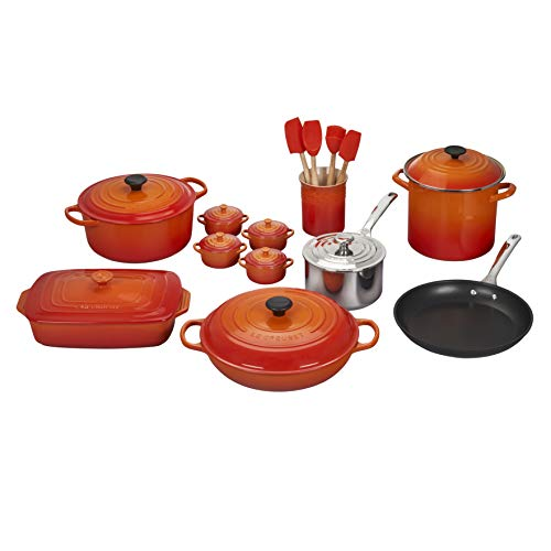 Le Creuset 20-Piece Cookware Set review