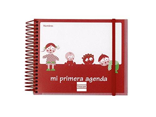 Finocam 153922 - Agenda infantil, no fechada, rojo (6316208)