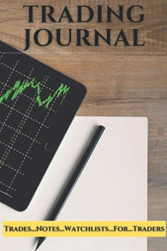 Trading Notebook (6x9in, 120pp): Journal Book For Investors To Record Trades, Watchlists, Notes
