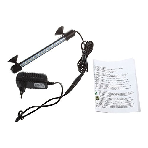 SODIAL(R) Lampe tube etanche aquarium poisson eclairage 100-240V