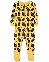 Leveret UPS Truck Baby Girls Boys Footed Pajamas Sleeper 100% Cotton Yellow 5 Years