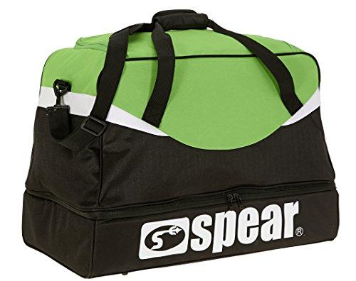 SPEAR Gear Sporttasche Big XXL mit Bodenfach 62 cm / 70 Liter + Trinkflasche (Green)