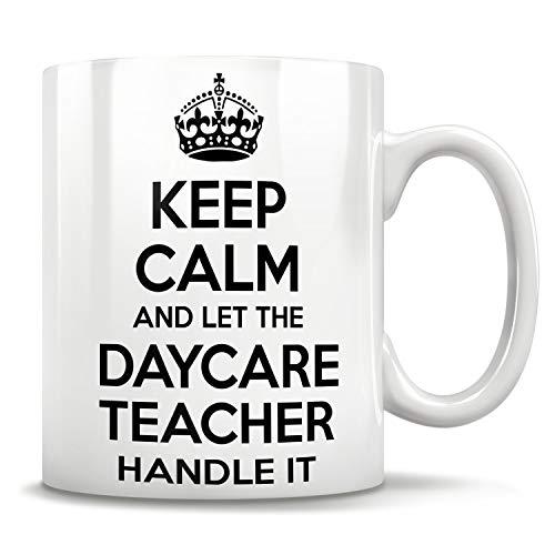 Taza para profesor de guardería, regalo para profesor, guardería, taza de profesor, guardería, regalo para trabajadores, regalos de guardería, mejor profesor de guardería