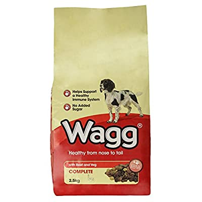 Wagg - Complete with Beef & Veg Dog Food - 2.5Kg