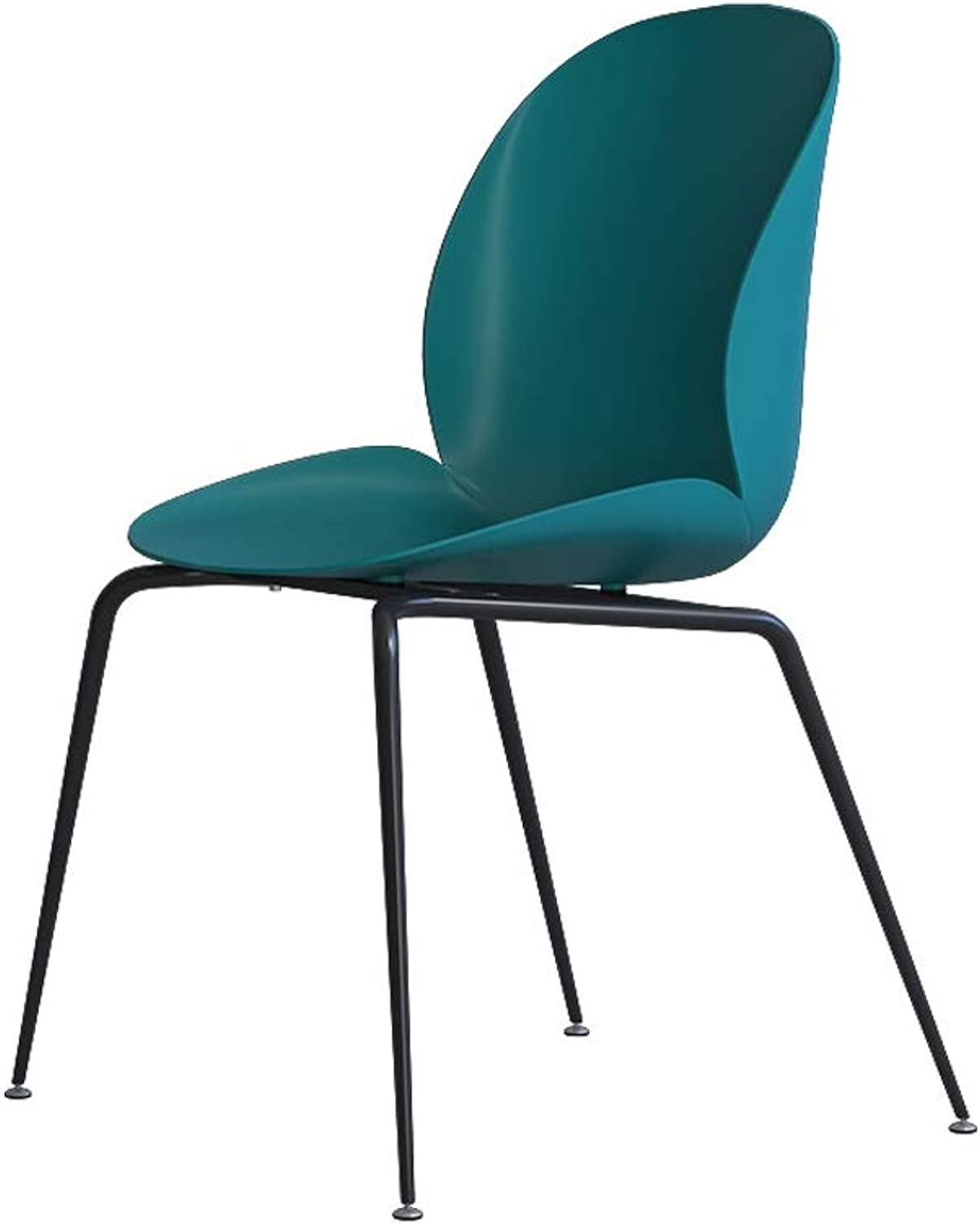 YJWOZ Plastic Chair Home Wrought Iron Chair Acrylic Plastic Small Chair 50×53×86cm Chair (color   C)