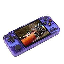 cheap WILLGOORK2020 New version of retro console handheld handheld game console.  It has a 3.5 inch IPS screen …