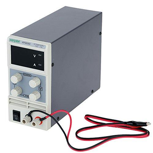 KKmoon 0-60V 2A / 3A / 5A Fuente de AlimentaciónMini Dc Pantalla de Conmutación Led de 3 Dígitos Precisión Variable Ajustable AC 110V / 220V 50 / 60Hz