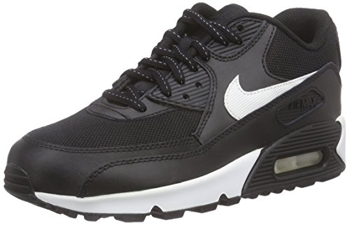 Nike Air Max 90 Flash (Gs) - Calzado Deportivo para chico, Black/Summit...