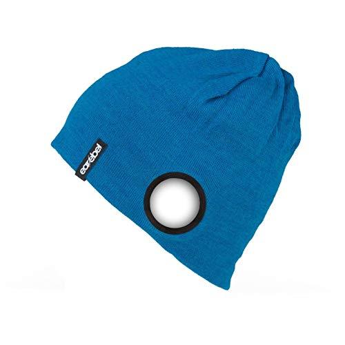 earabel Beanie blau Einheitsgröße