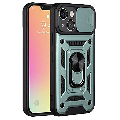 RZL Teléfono móvil Fundas para iPhone 13 Pro MAX,Diapositiva Funda Protectora de la Lente de la cámara de la Lente a Prueba de Golpes para iPhone13 13 Mini 13pro MAX