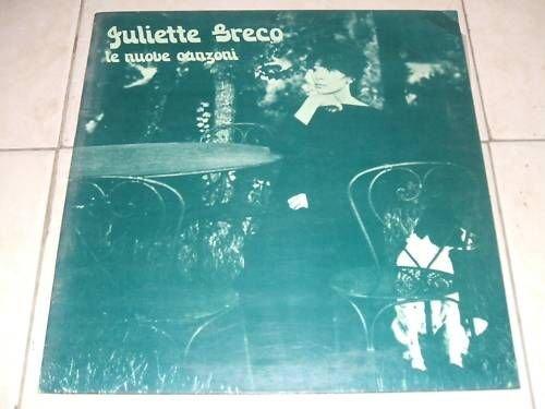 Juliette Greco - LE NUOVE CANZONI (LP)