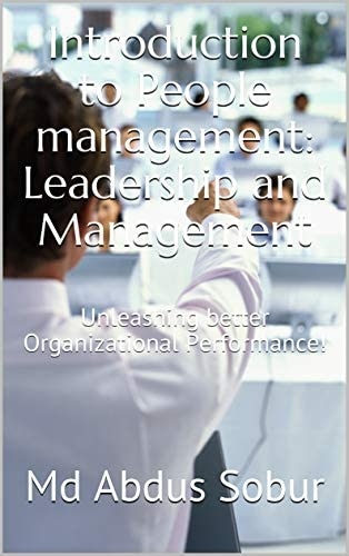 Introduction to People management Leadership and Management Unleashing better Organizational product image