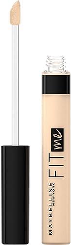 Maybelline Fit Me Liquid Concealer Makeup, Natural Coverage, Oil-Free, Light, 0.23 Fl Oz (Pack of 1)
