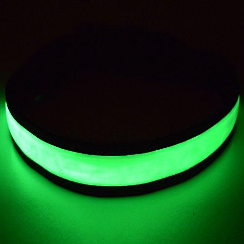 Fun Pets Hundesicherheitshalsband mit ultraheller, wiederaufladbarer LED mit hervorragender Sichtbarkeit und erhöhter Sicherheit X-Klein (20cm - 30cm / 7.87
