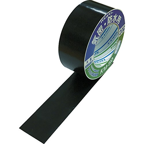 パイオラン 気密防水用テープ KM-50-BK 気密防水テープ