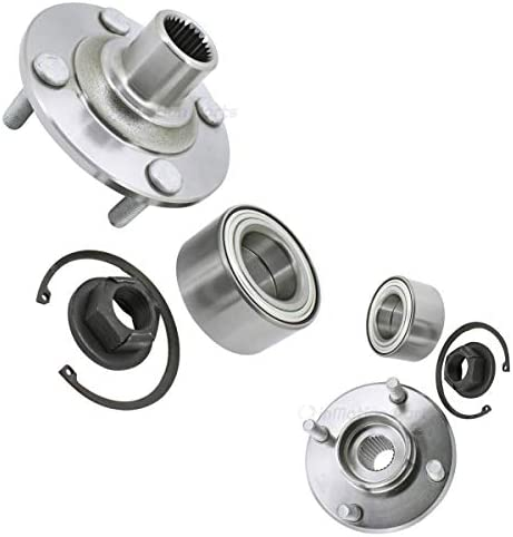 Front お気にいる inMotion Parts Wheel Hub Kit for IMP518518 Bearing F 蔵