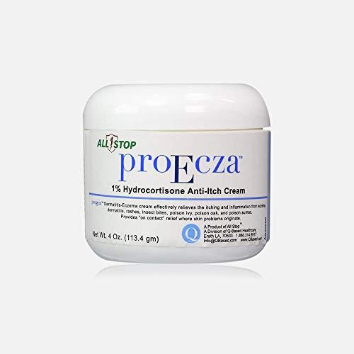 ProEcza Eczema Anti-Itch Cream for Skin, Kids, Baby - Relief from Eczema, Dermatitis, Rashes, Insect Bites, Poison Ivy, Poison Oak & Poison Sumac (1)