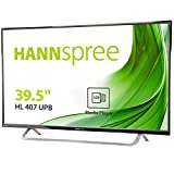 Hannspree Hanns.G HL 407 UPB 39.5' Full HD TFT Black computer monitor - computer monitors (100.3 cm (39.5'), 1920 x 1080 pixels, LED, 8.5 ms, 260 cd/m², Black)
