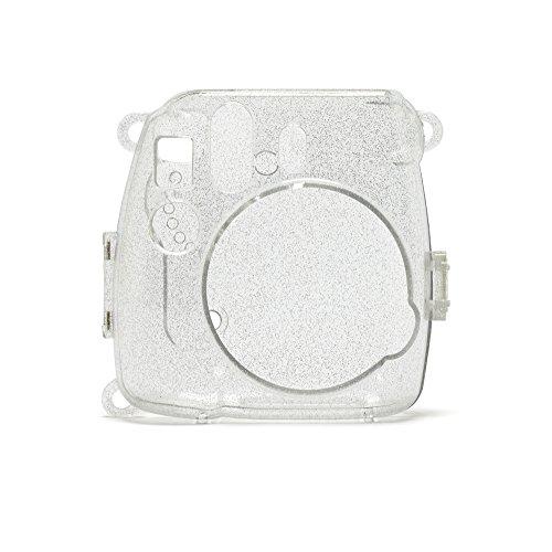 Fujifilm Instax Mini 8 und 9 Gitzerhülle, Clear sparkles