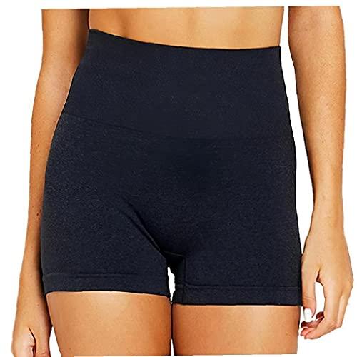 WFIT Sin Fisuras Entrenamiento Yoga De Las Mujeres Pantalones Cortos para Correr Entrenamiento Salón Pantalones Cortos para Mujer De Talle Alto Pantalón Corto Yoga Corto De Las Polainas