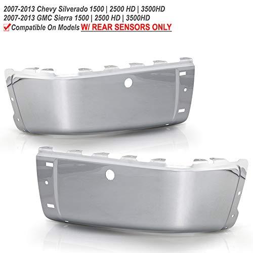 08 silverado chrome bumper cap - 7