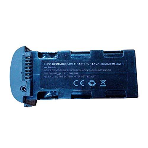 3S 25C 11.1V 1800MAH Batería Recargable Lipo para SMRC ICAT6 RC Drone Negro