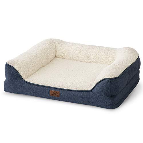 Bedsure Orthopedic Pet Sofa Bed