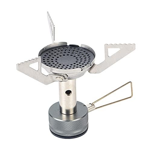 Perfeclan Estufa de Gas Ultraligera de Primera Calidad para Camping, Quemador de Gas para cocinar al Aire Libre, portátil, Plegable, a Prueba de Viento para