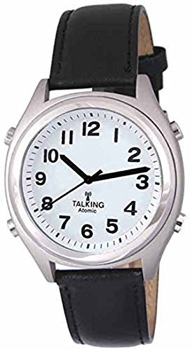 Atomic! Talking Wrist Watch w/Alarm, Time,Day,Date and Year