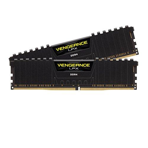 CORSAIR VENGEANCE LPX 16GB (2x8GB) DDR4 4000 (PC4-32000) C19 Desktop Memory - Black