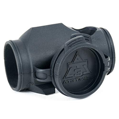 AT3 Tactical RD-Armor Optic Cover with Integrated Lens Caps for RD-50 Red Dot Micro Reflex Sight