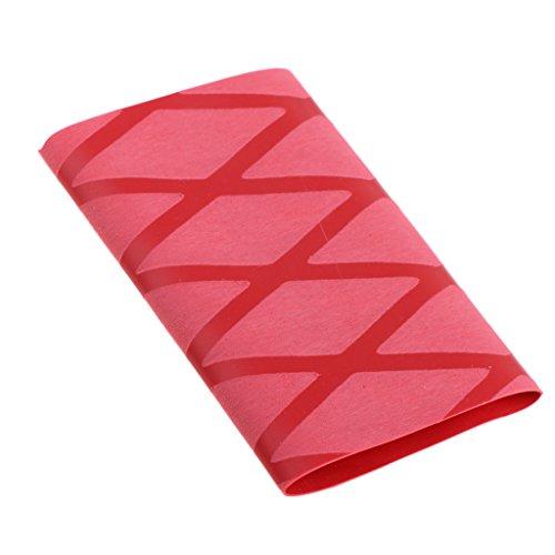 NON 1 Unidad de Mango de Empuñadura de Raqueta de Ping Pong Color Opcional Hecho de Material Caucho - Rojo