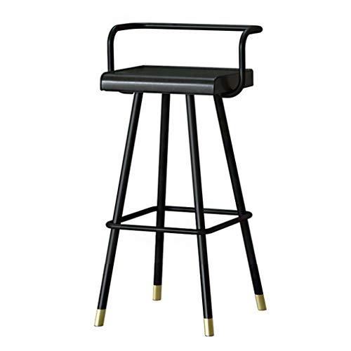 Küchen-Barhocker, Beistellstuhl Bistrohocker Thekenstuhl Kaffeeküche Essensstuhl, 150kg Kapazität